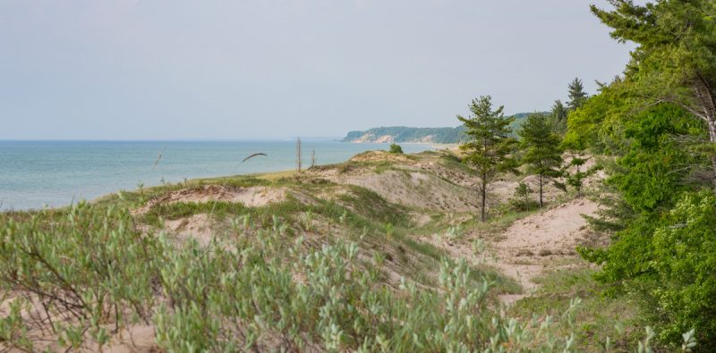 Lake Michigan and Nordhouse Dunes